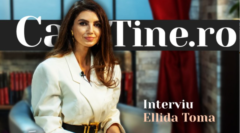 CaTine.Ro - Interviu Ellida Toma - Elegantă