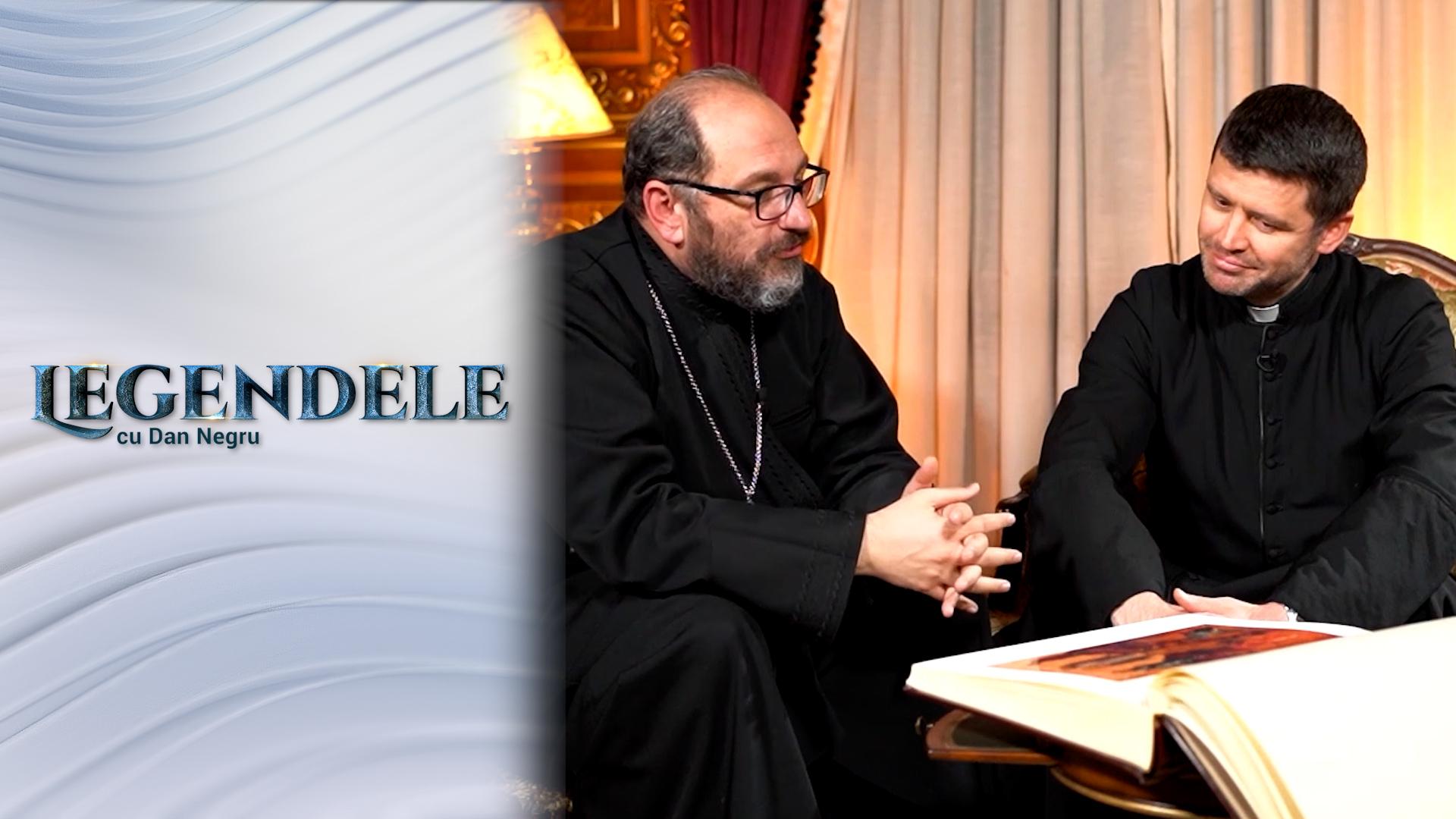 Legendele cu Dan Negru - Interviu Părintele Necula și Părintele Francisc