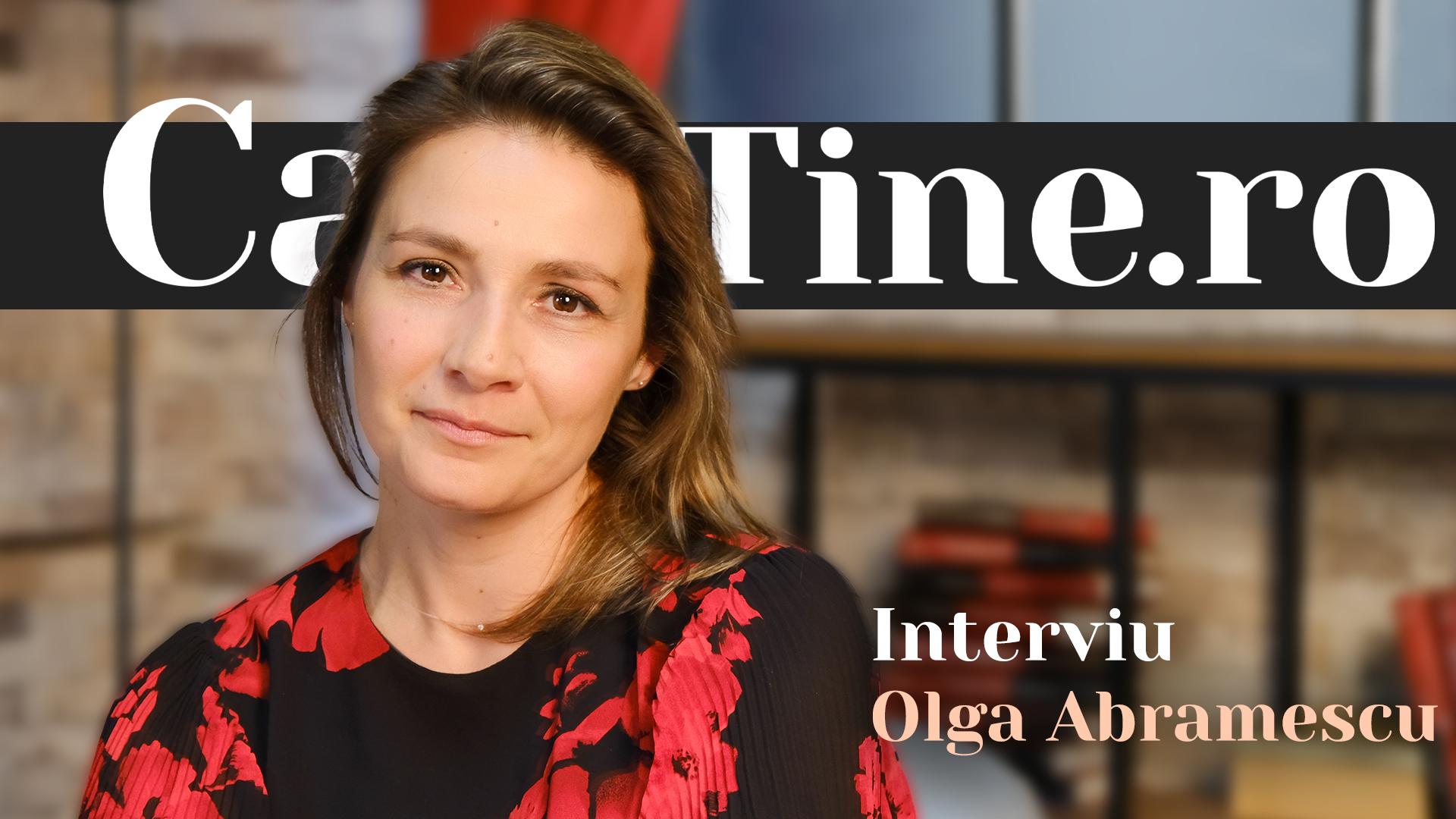 CaTine.Ro - Interviu Olga Abramescu - Perseverentă
