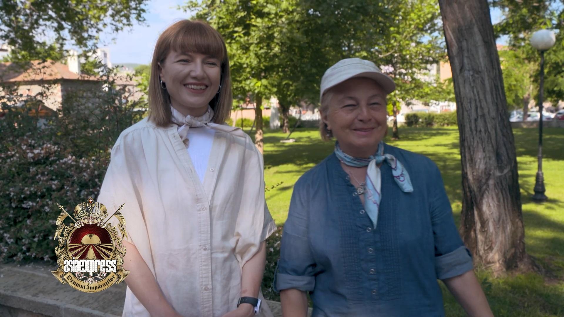 Interviu Alexandra Ungureanu şi mama sa