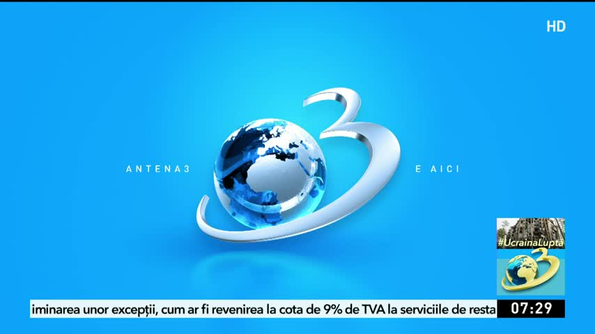 Stiri Antena 3 si Antena 3 live pe platforma AntenaPlay